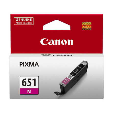 Canon CLI-651 M Magenta Kırmızı Orijinal Mürekkep Kartuş