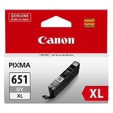 Canon CLI-651XL GY Grey Gri Orijinal Mürekkep Kartuş