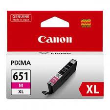 Canon CLI-651XL M Magenta Kırmızı Orijinal Mürekkep Kartuş