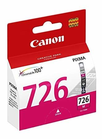 Canon CLI-726 M Magenta Kırmızı Orijinal Mürekkep Kartuş