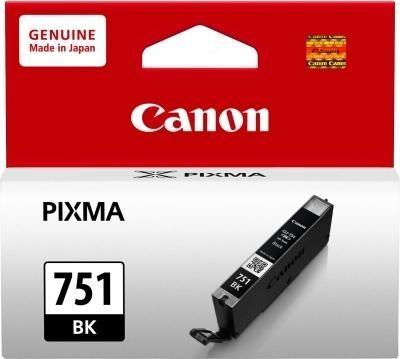Canon CLI-751 BK Black Siyah Orijinal Mürekkep Kartuş