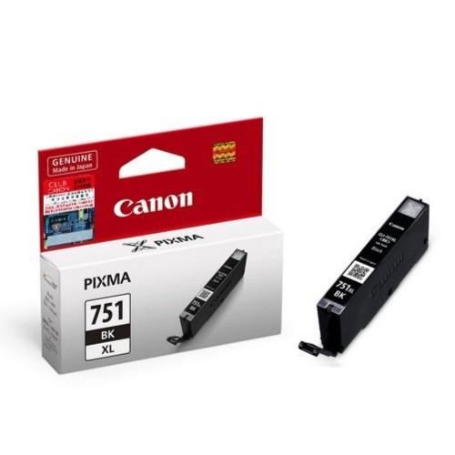 Canon CLI-751XL BK Black Siyah Orijinal Mürekkep Kartuş