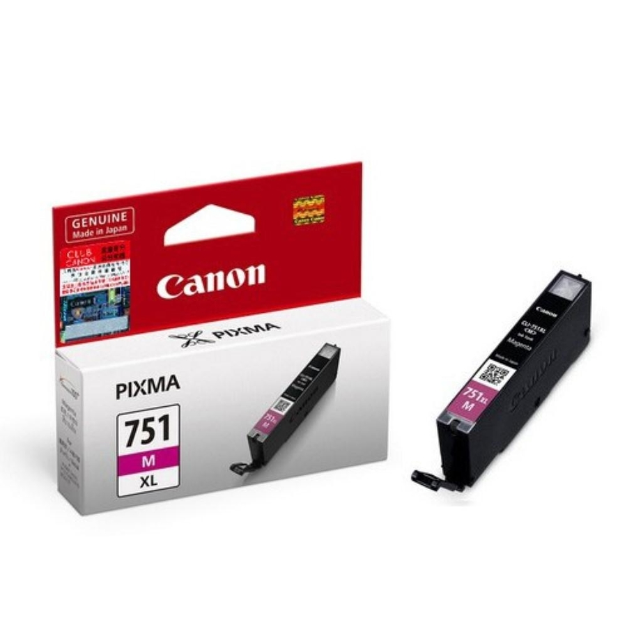 Canon CLI-751XL M Magenta Kırmızı Orijinal Mürekkep Kartuş