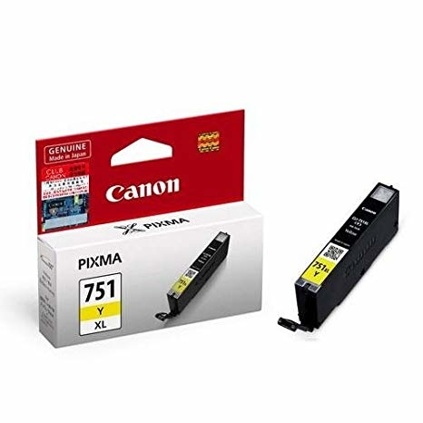Canon CLI-751XL Y Yellow Sarı Orijinal Mürekkep Kartuş