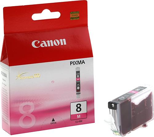 Canon CLI-8 M Magenta Kırmızı Orijinal Mürekkep Kartuş