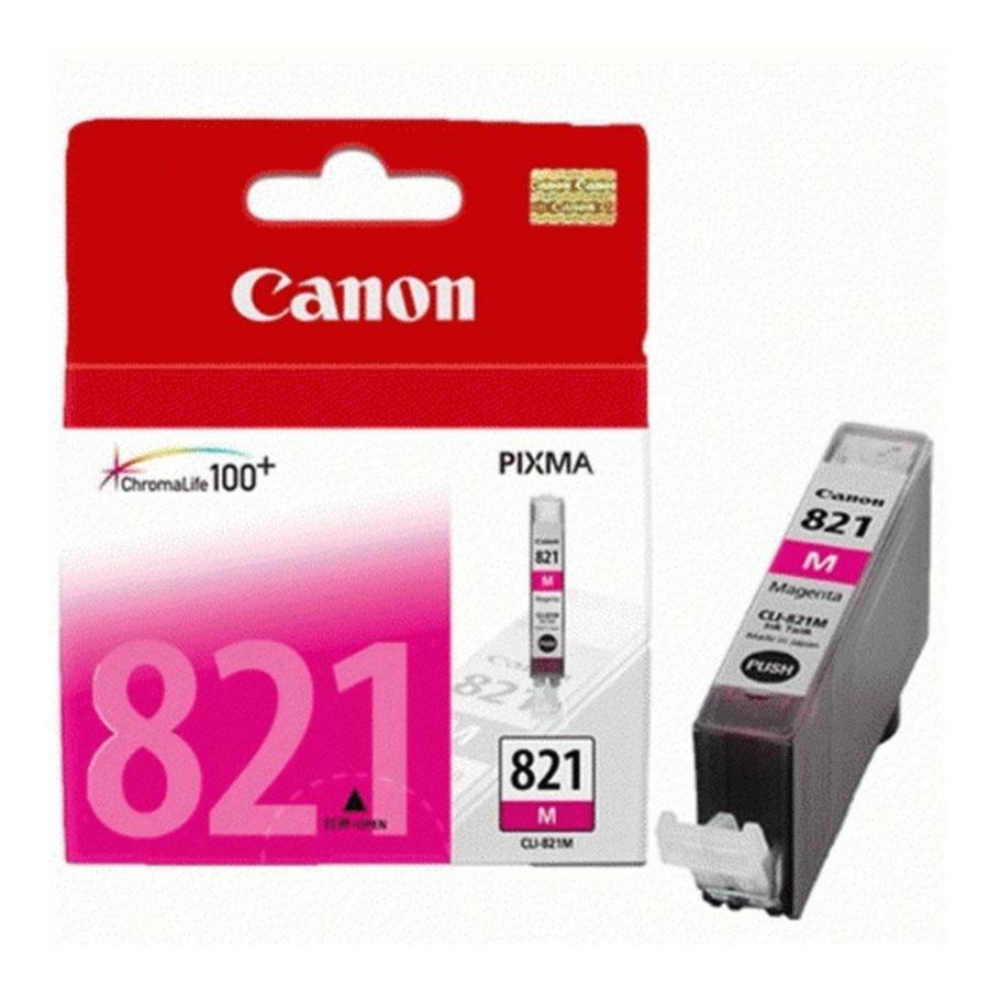 Canon CLI-821 M Magenta Kırmızı Orijinal Mürekkep Kartuş