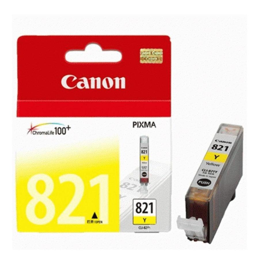 Canon CLI-821 Y Yellow Sarı Orijinal Mürekkep Kartuş