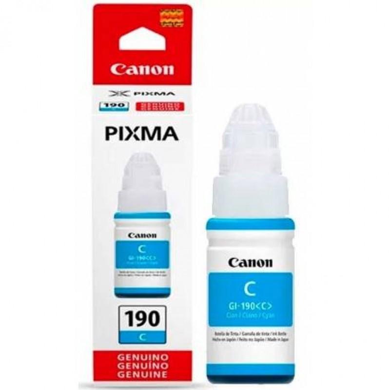 Canon GI-190 C Cyan Mavi Orijinal Mürekkep