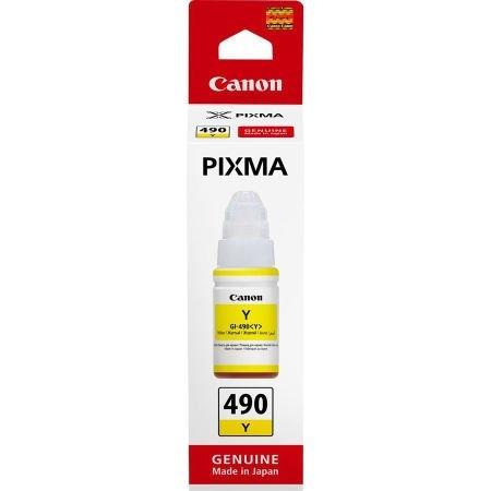 Canon GI-190 Y Yellow Sarı Orijinal Mürekkep