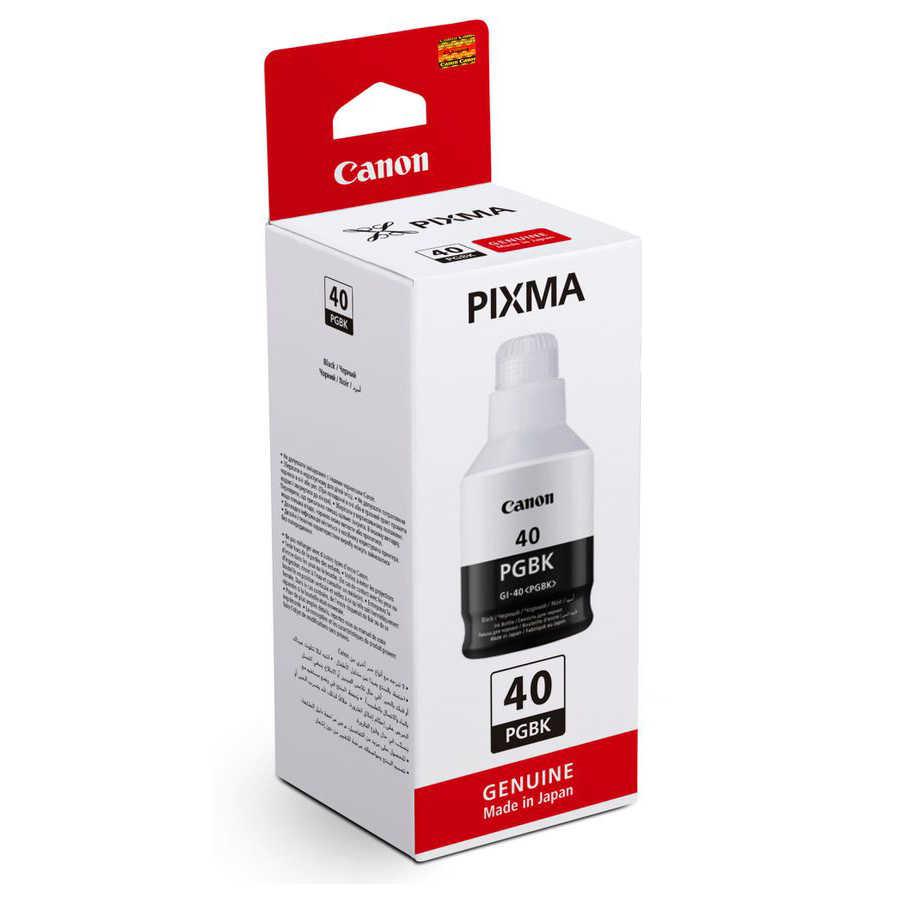 Canon GI-40 PGBK Black Siyah Orijinal Mürekkep