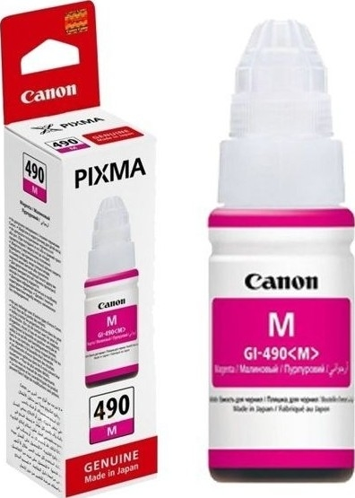 Canon GI-490 M Magenta Kırmızı Orijinal Mürekkep
