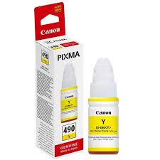 Canon GI-490 Y Yellow Sarı Orijinal Mürekkep