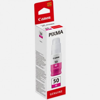 Canon GI-50 M Magenta Kırmızı Orijinal Mürekkep