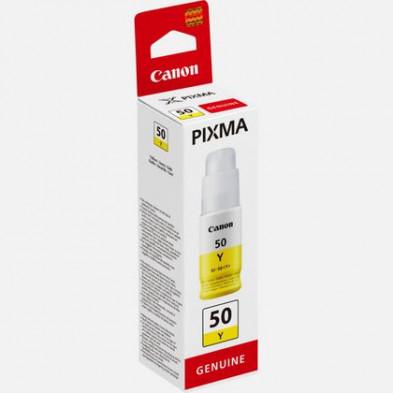 Canon GI-50 Y Yellow Sarı Orijinal Mürekkep