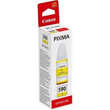 Canon GI-590 Y Yellow Sarı Orijinal Mürekkep