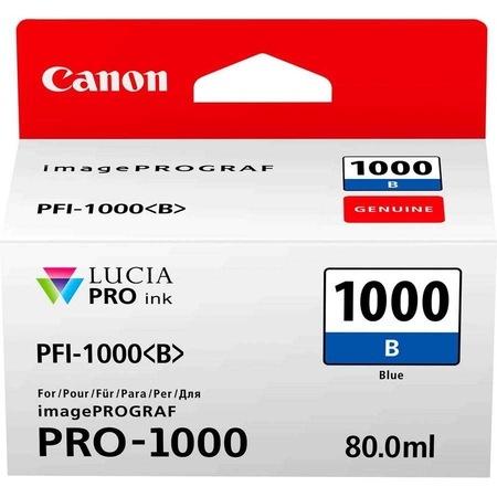Canon PFI-1000 B Blue Gökmavi Orijinal Mürekkep Kartuş