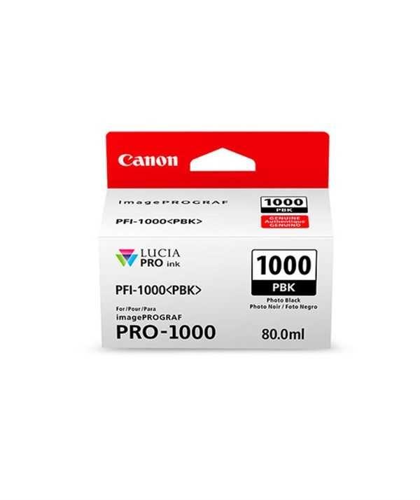 Canon PFI-1000 BK Black Siyah Orijinal Mürekkep Kartuş
