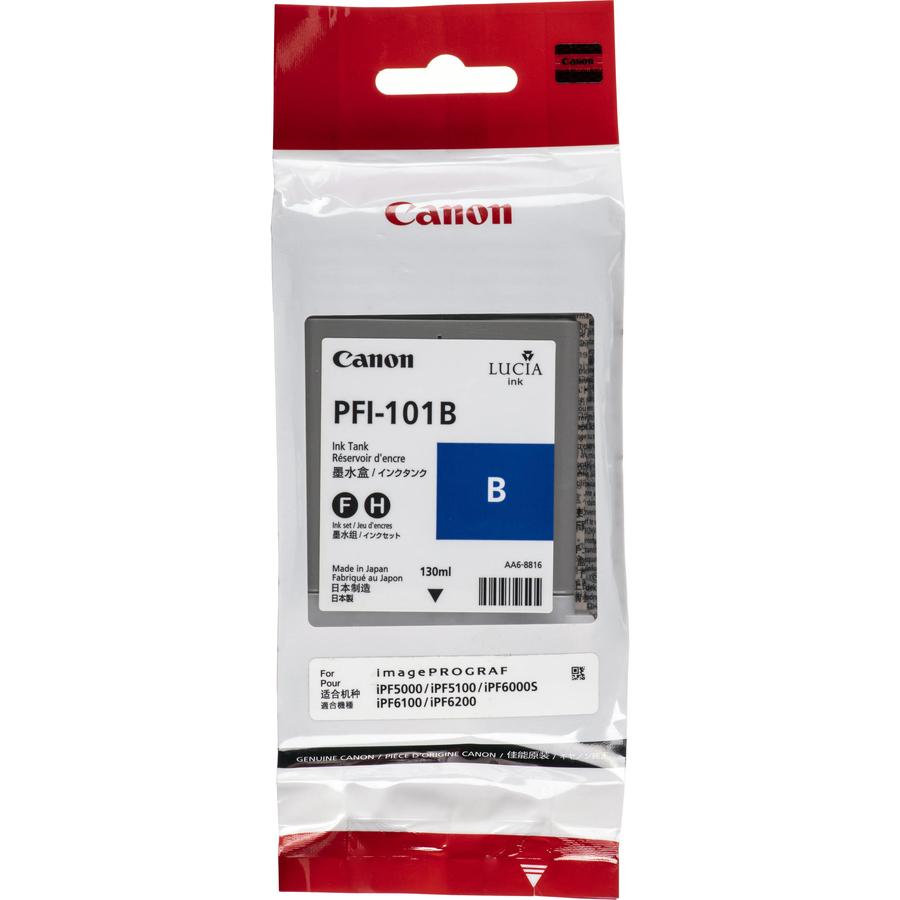 Canon PFI-101 B Blue Gökmavi Orijinal Mürekkep Kartuş