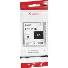 Canon PFI-101 BK Black Siyah Orijinal Mürekkep Kartuş