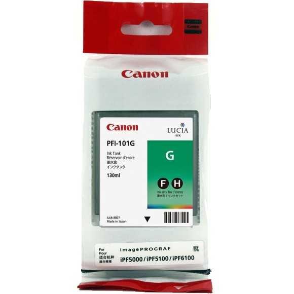 Canon PFI-101 G Green Yeşil Orijinal Mürekkep Kartuş