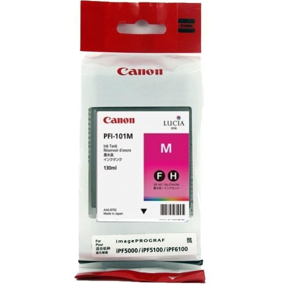 Canon PFI-101 M Magenta Kırmızı Orijinal Mürekkep Kartuş