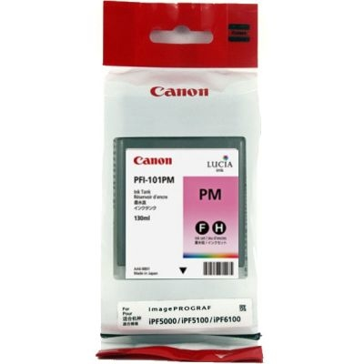 Canon PFI-101 PM Photo Magenta Foto Kırmızı Orijinal Mürekkep Kartuş