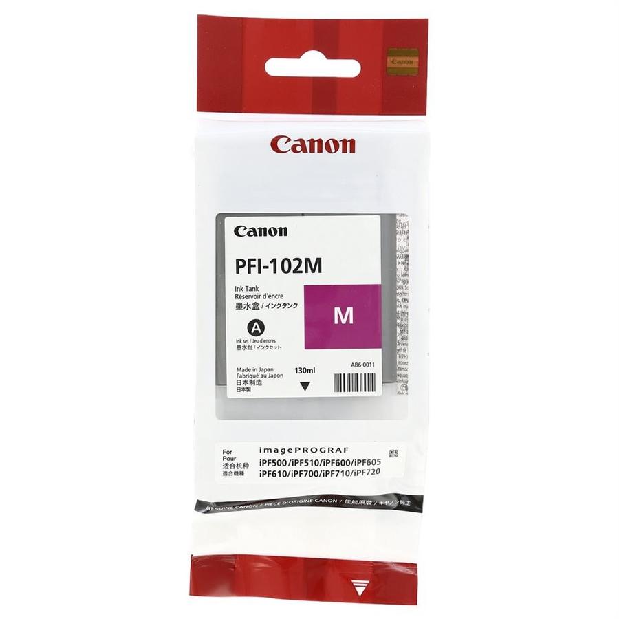 Canon PFI-102 M Magenta Kırmızı Orijinal Mürekkep Kartuş