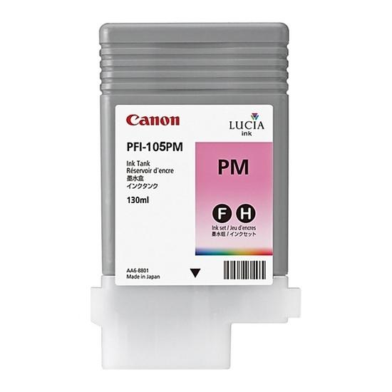 Canon PFI-105 PM Photo Magenta Foto Kırmızı Orijinal Mürekkep Kartuş