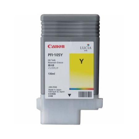 Canon PFI-105 Y Yellow Sarı Orijinal Mürekkep Kartuş