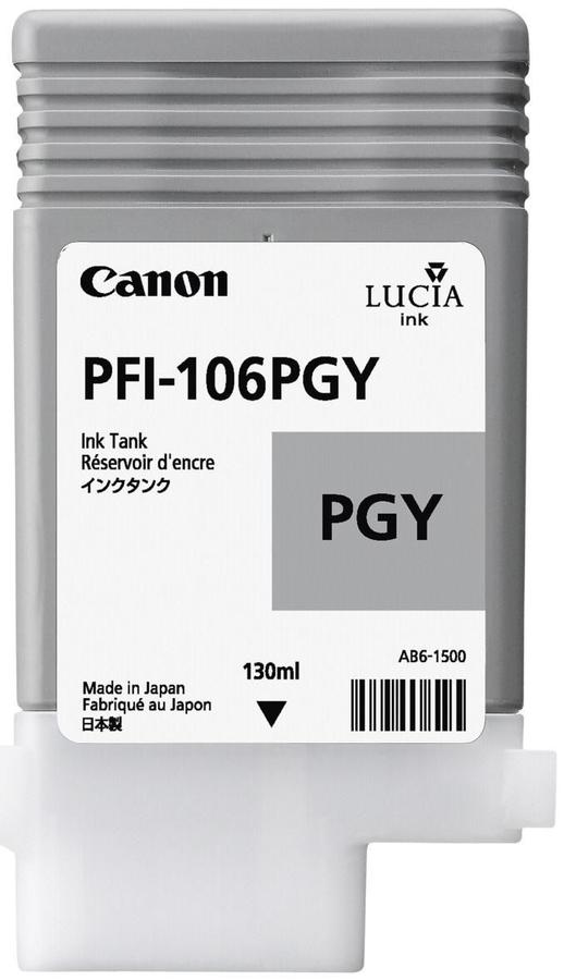 Canon PFI-106 PGY Photo Grey Foto Gri Orijinal Mürekkep Kartuş