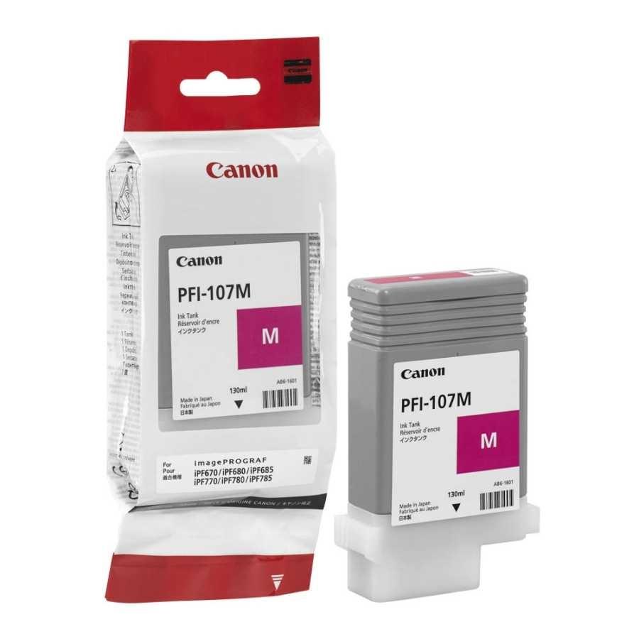 Canon PFI-107 M Magenta Kırmızı Orijinal Mürekkep Kartuş