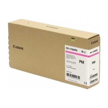 Canon PFI-1700 PM Photo Magenta Foto Kırmızı Orijinal Mürekkep Kartuş
