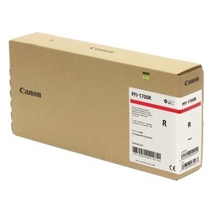 Canon PFI-1700 R Red Kırmızı Orijinal Mürekkep Kartuş