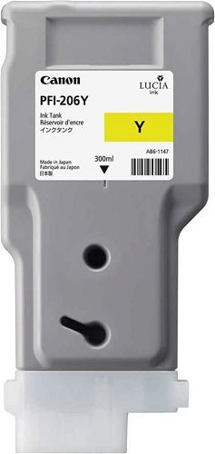 Canon PFI-206 Y Yellow Sarı Orijinal Mürekkep Kartuş