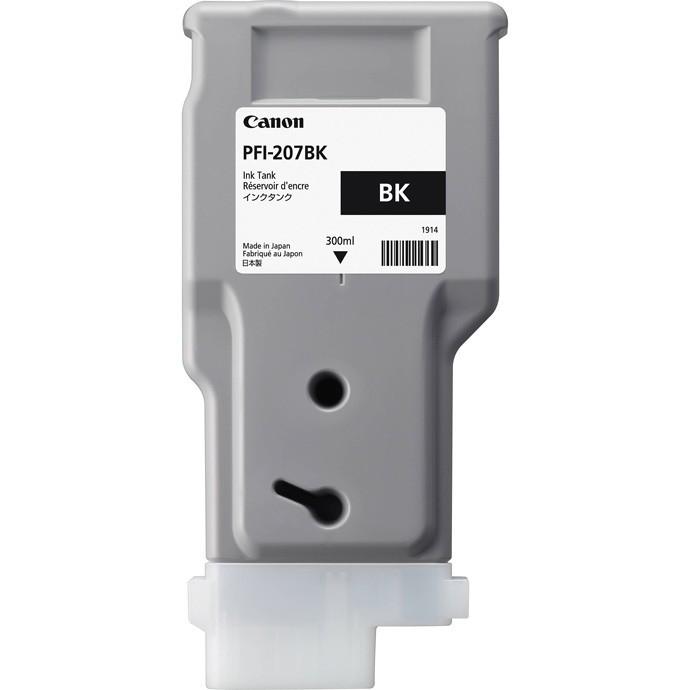 Canon PFI-207 BK Black Siyah Orijinal Mürekkep Kartuş
