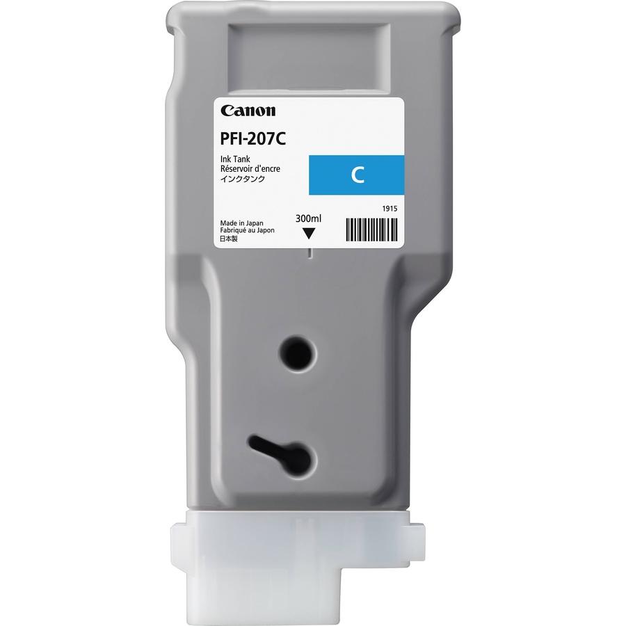 Canon PFI-207 C Cyan Mavi Orijinal Mürekkep Kartuş