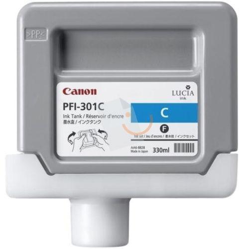 Canon PFI-301 C Cyan Mavi Orijinal Mürekkep Kartuş