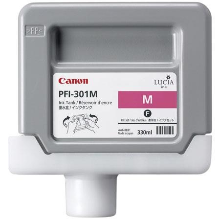 Canon PFI-301 M Magenta Kırmızı Orijinal Mürekkep Kartuş
