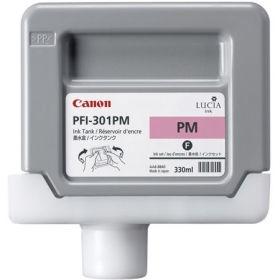 Canon PFI-301 PM Photo Magenta Foto Kırmızı Orijinal Mürekkep Kartuş