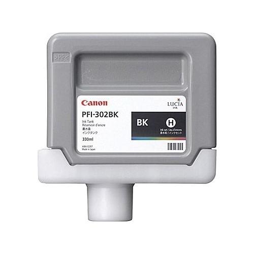 Canon PFI-302 BK Black Siyah Orijinal Mürekkep Kartuş