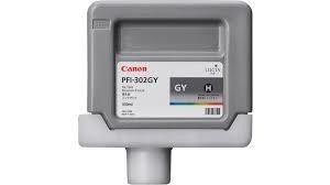 Canon PFI-302 GY Grey Gri Orijinal Mürekkep Kartuş