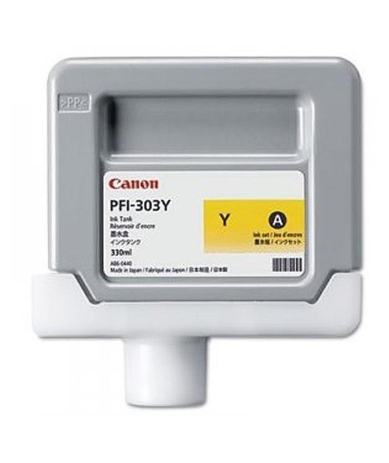 Canon PFI-303 Y Yellow Sarı Orijinal Mürekkep Kartuş