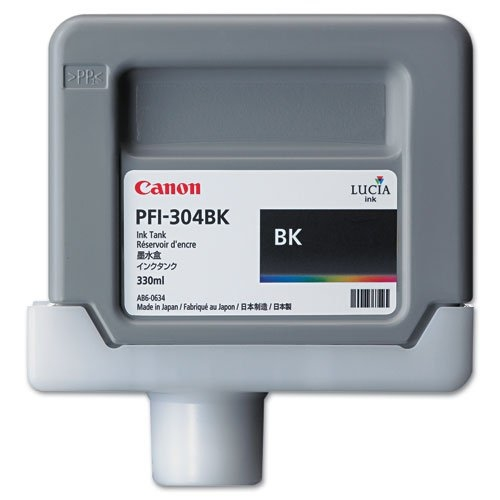 Canon PFI-304 BK Black Siyah Orijinal Mürekkep Kartuş