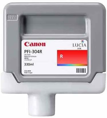 Canon PFI-304 R Red Kırmızı Orijinal Mürekkep Kartuş