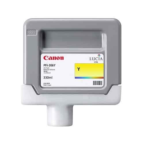 Canon PFI-306 Y Yellow Sarı Orijinal Mürekkep Kartuş