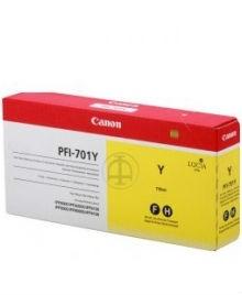 Canon PFI-701 Y Yellow Sarı Orijinal Mürekkep Kartuş