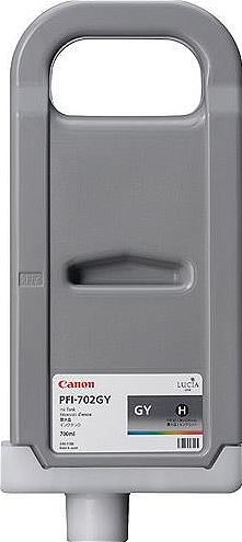 Canon PFI-702 GY Grey Gri Orijinal Mürekkep Kartuş