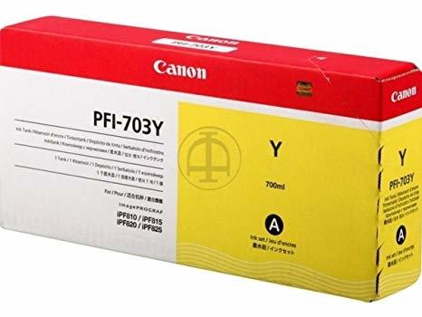Canon PFI-703 Y Yellow Sarı Orijinal Mürekkep Kartuş