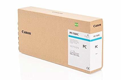 Canon PFI-706 PC Photo Cyan Foto Mavi Orijinal Mürekkep Kartuş