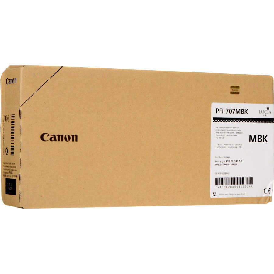 Canon PFI-707 MBK Mat Black Mat Siyah Orijinal Mürekkep Kartuş